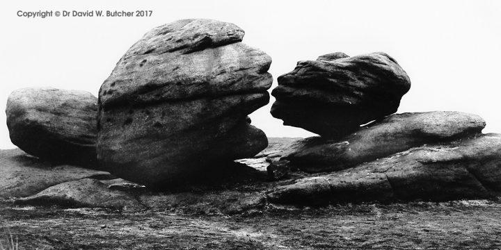 The Kiss, Bleaklow, Peak District