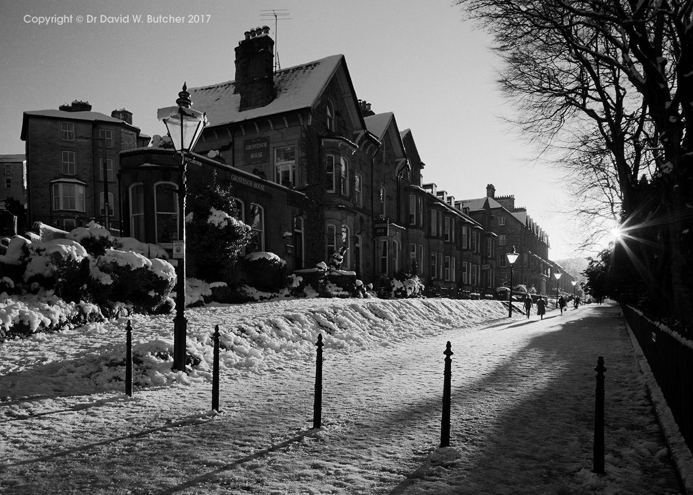 Buxton Broad Walk in Winter, Peak District