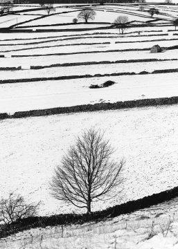 Chelmorton Fields in Winter near Buxton, Peak District