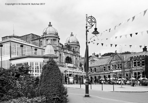 Buxton Opera House and Bunting, Peak District