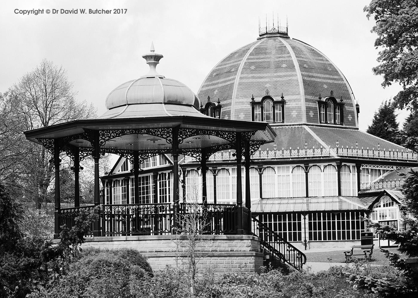 Buxton Pavilion Gardens Bandstand and Octagon, Peak District