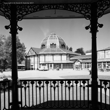Buxton Pavilion Gardens from Bandstand, Peak District