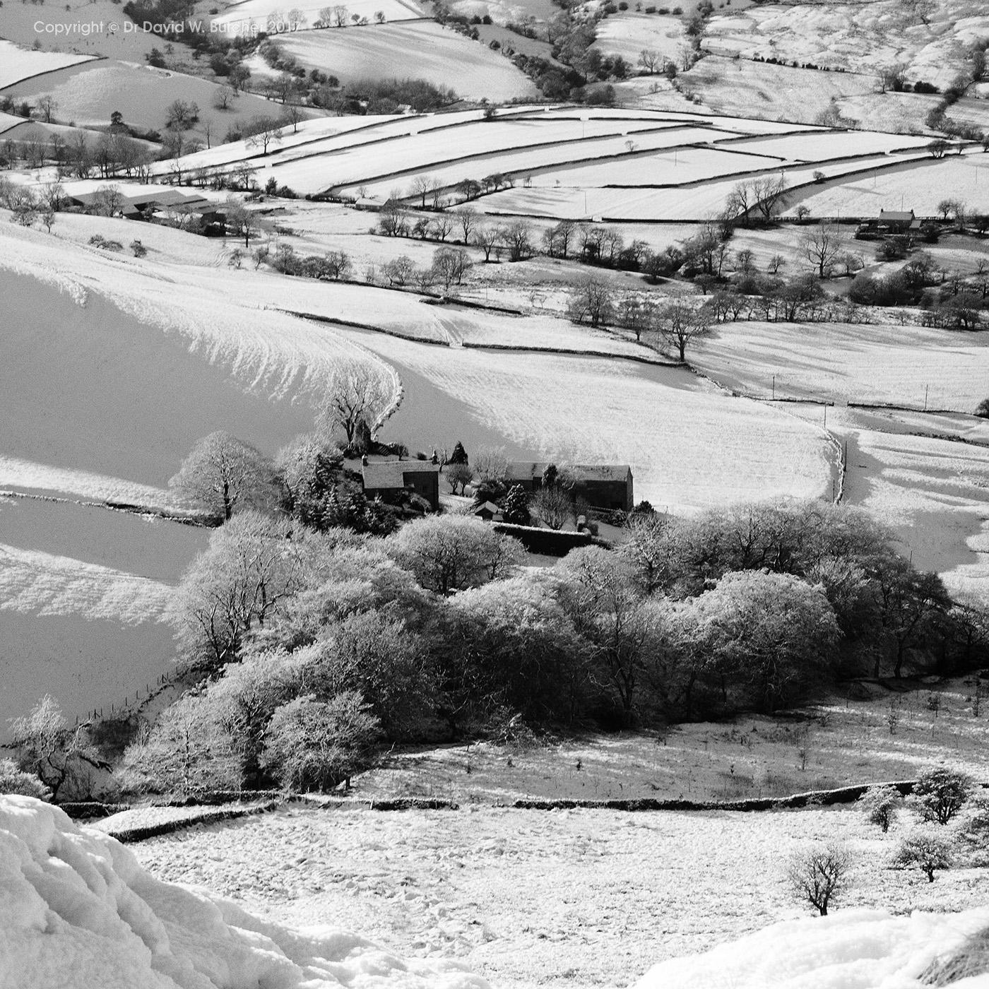 White Peak in Winter, Chapel-en-le-Frith, Peak District