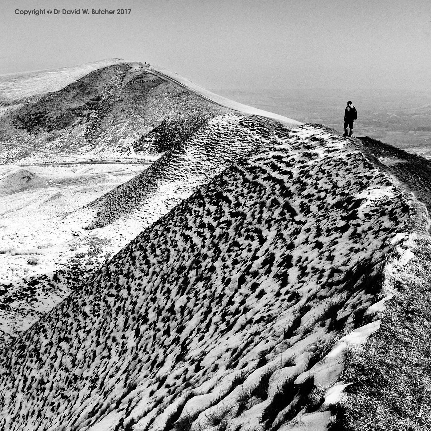 Mam Tor from Rushup Edge, Castleton, Peak District