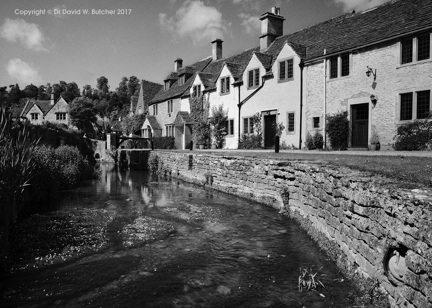 Castle Combe and Bybrook River