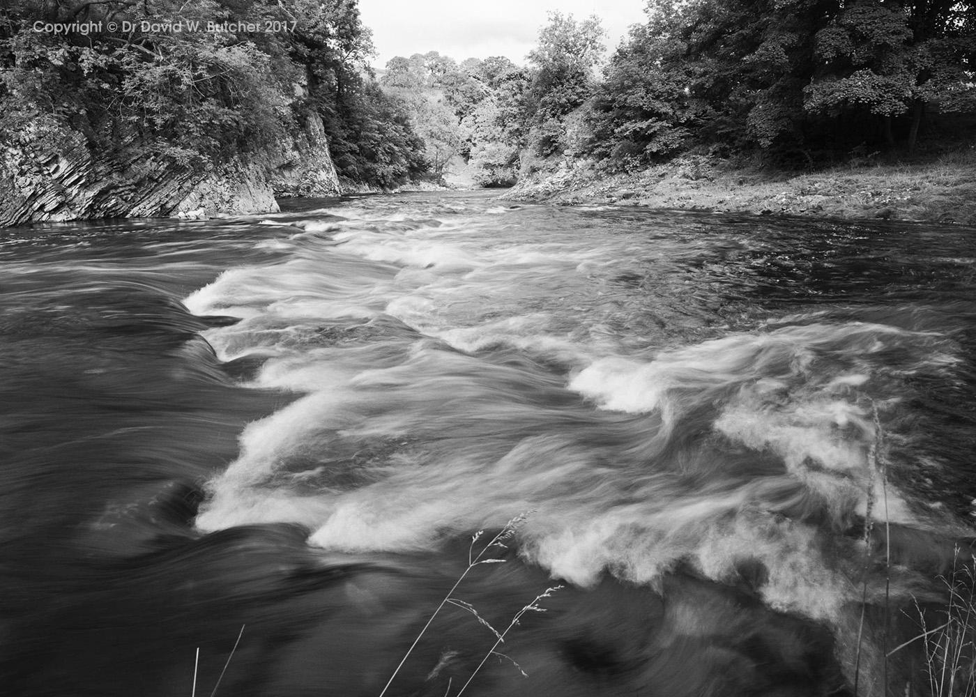 River Wharfe at Loup Scar, Grassington, Wharfedale, Yorkshire