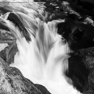 Strid Waterfall, Wharfedale, Yorkshire