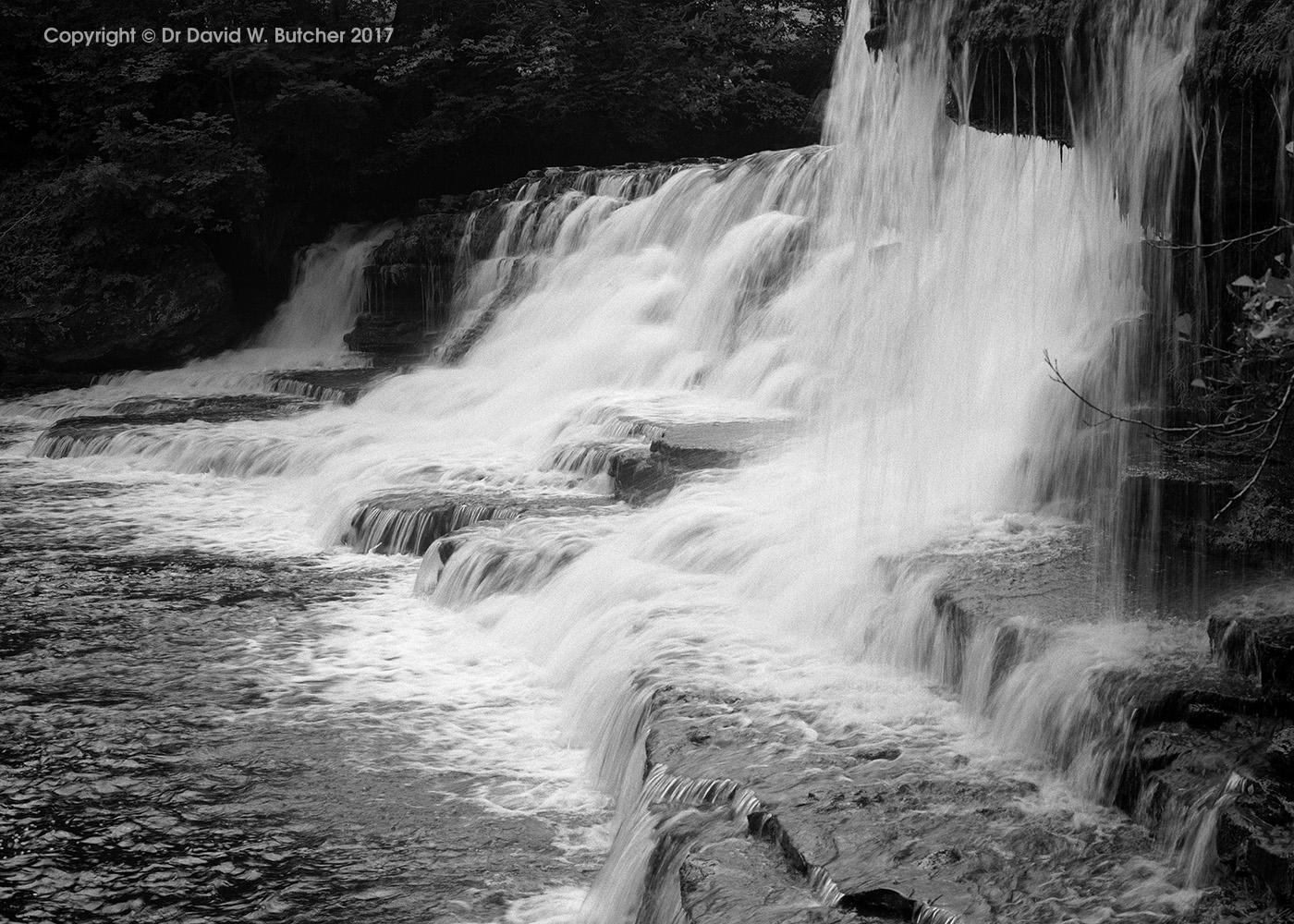 Aysgarth Middle Falls, Hawes, Wensleydale, Yorkshire