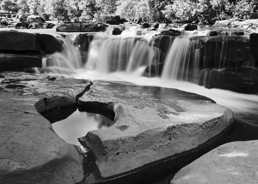 Wain Wath Lower Falls and Rock Pool, Keld, Yorkshire