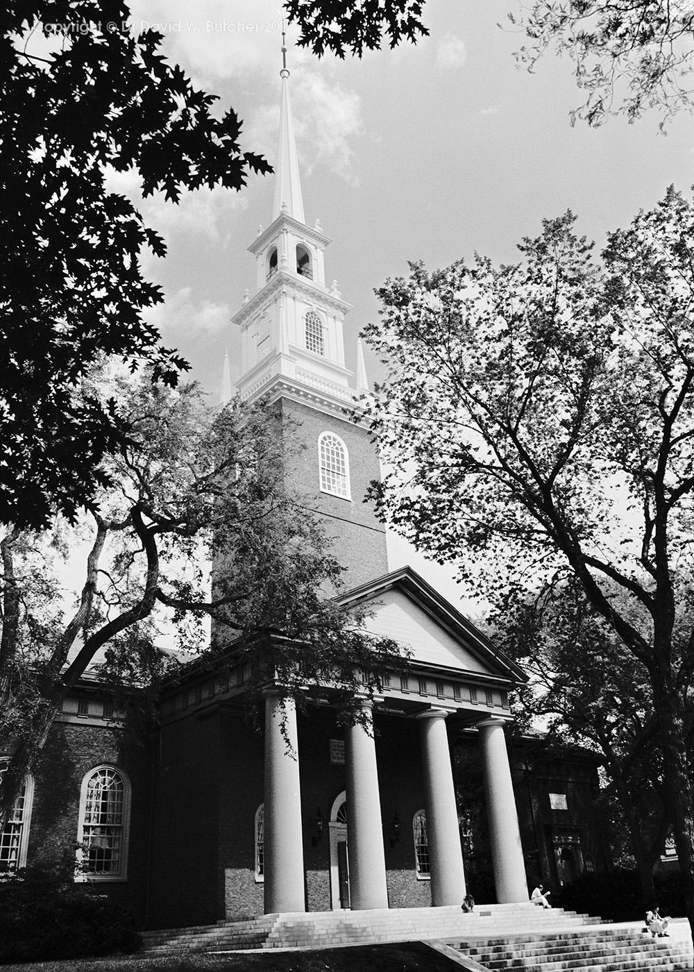Harvard University Memorial Church, Cambridge, Boston, USA