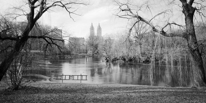 The Lake Central Park and San Remo Building, New York, USA
