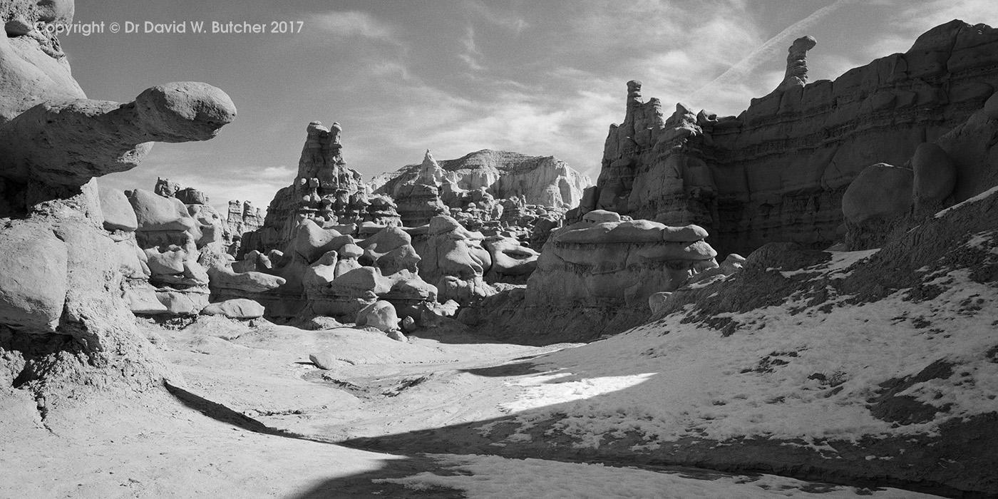 Goblin Valley in Winter, Utah
