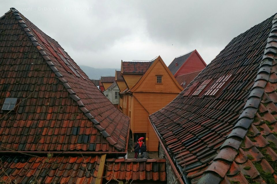 Norway Photo Trip, Bergen in the Rain