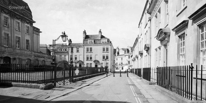 Bath Beauford Square, England