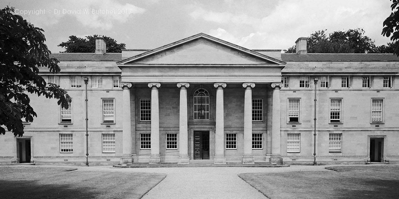 Cambridge Downing College Chapel, England
