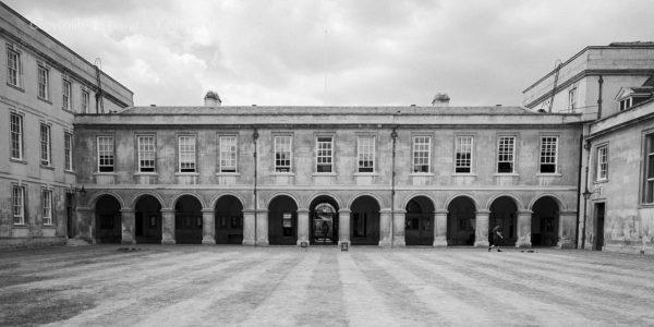 Cambridge Emmanuel College Front Court Entrance, England