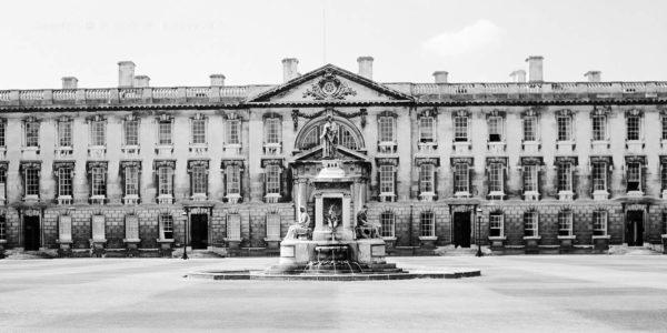 Cambridge King's College Gibb's Building, England