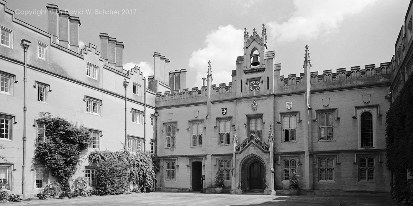 Cambridge Sidney Sussex College, Chapel Court, England