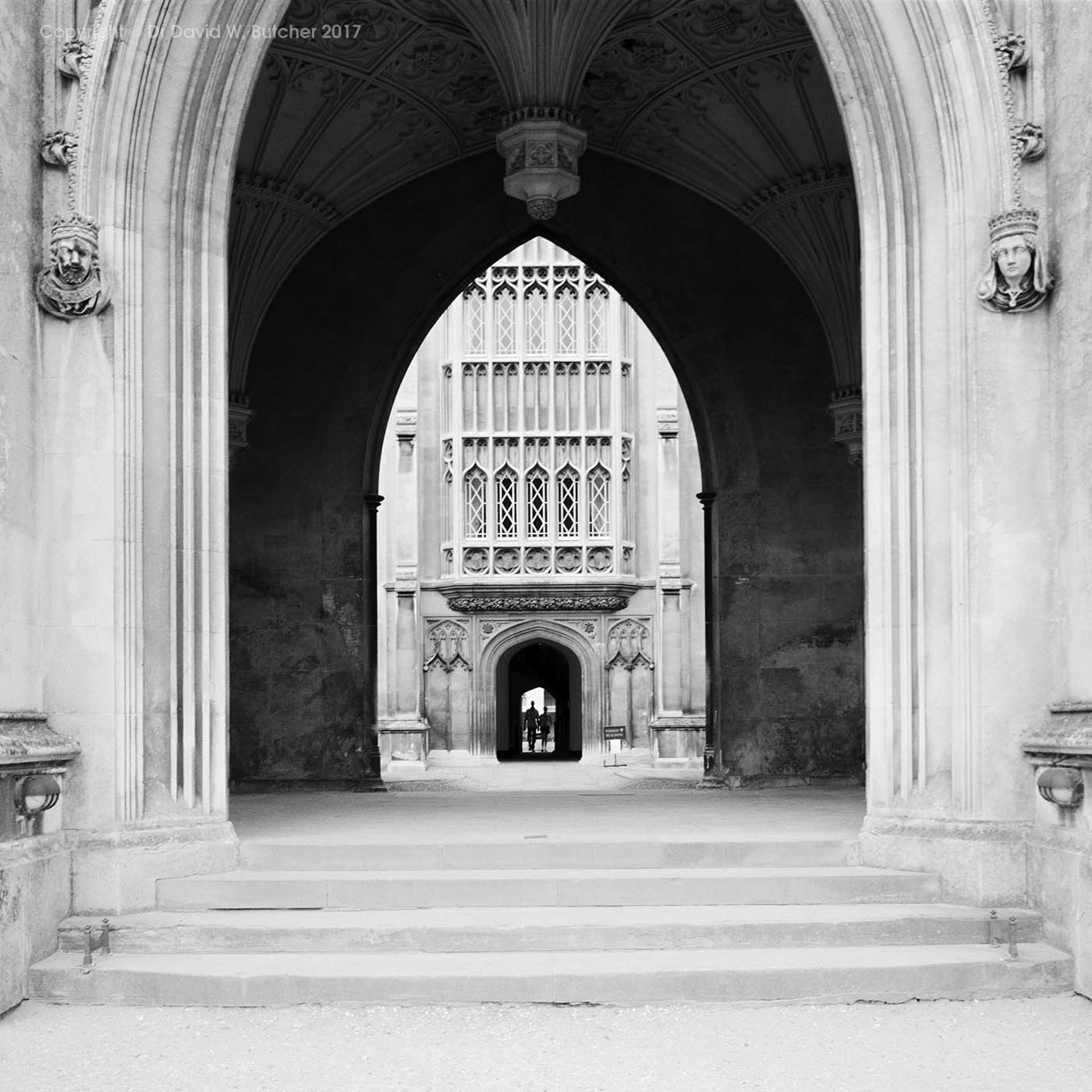 Cambridge St John's College New Court Entrance, England