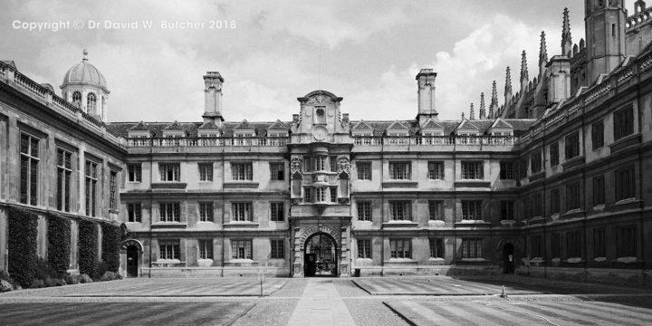 Cambridge Clare College Old Court #2, England