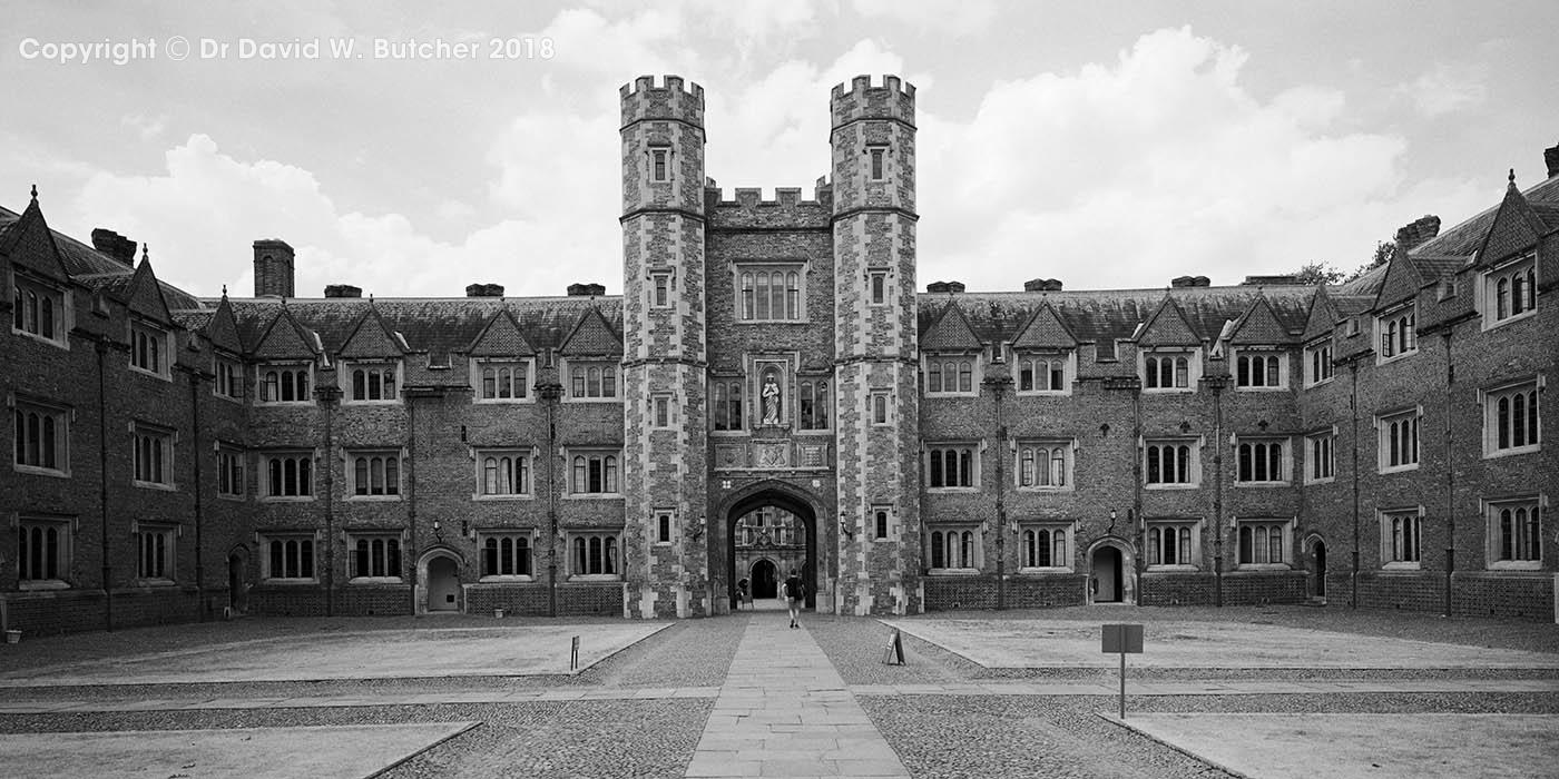 Cambridge St John's College Second Court, England