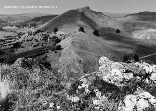 Chrome Hill from Parkhouse Hill, Peak District