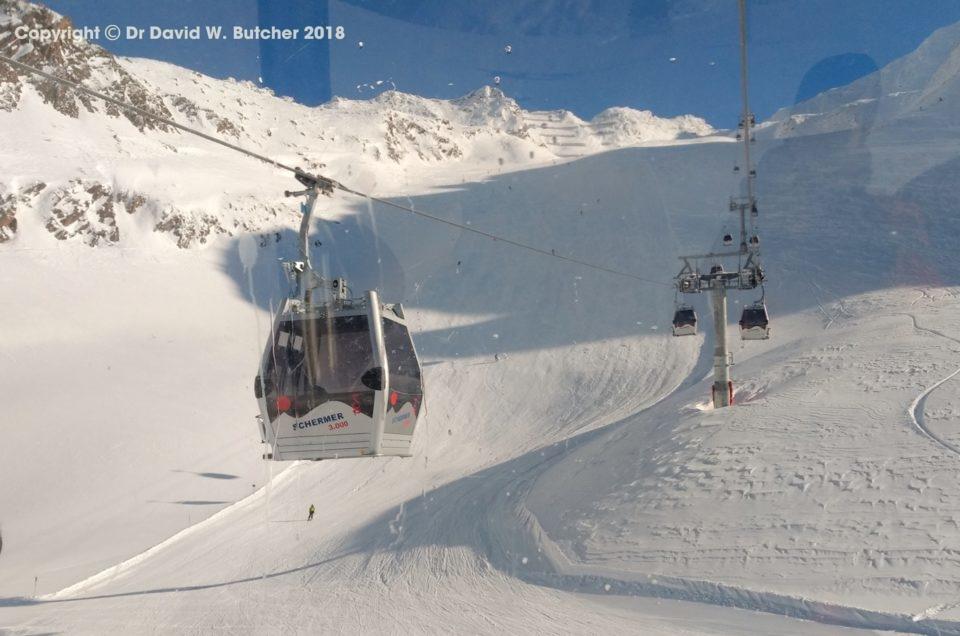 Hochgurgl Skiing January 2019