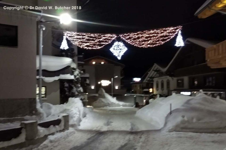 Obergurgl Snow January 2019