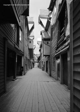 Bergen Bryggen Passage, Norway