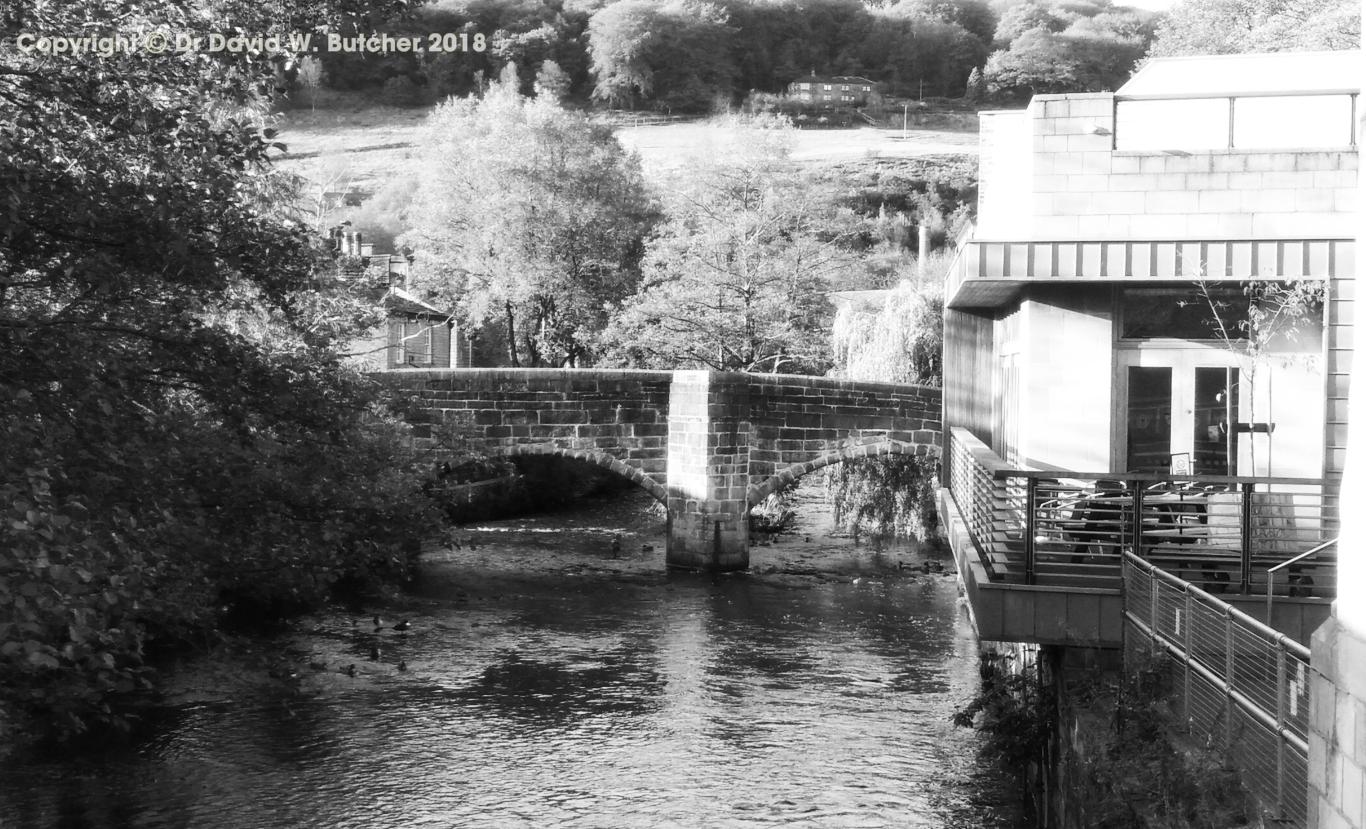 Hebden Bridge and River Colne
