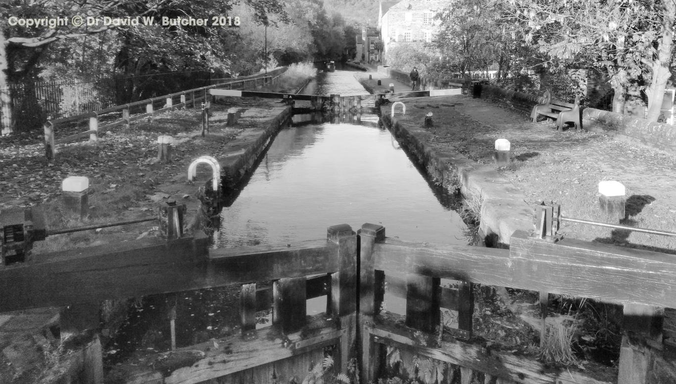Hebden Bridge Rochdale Canal