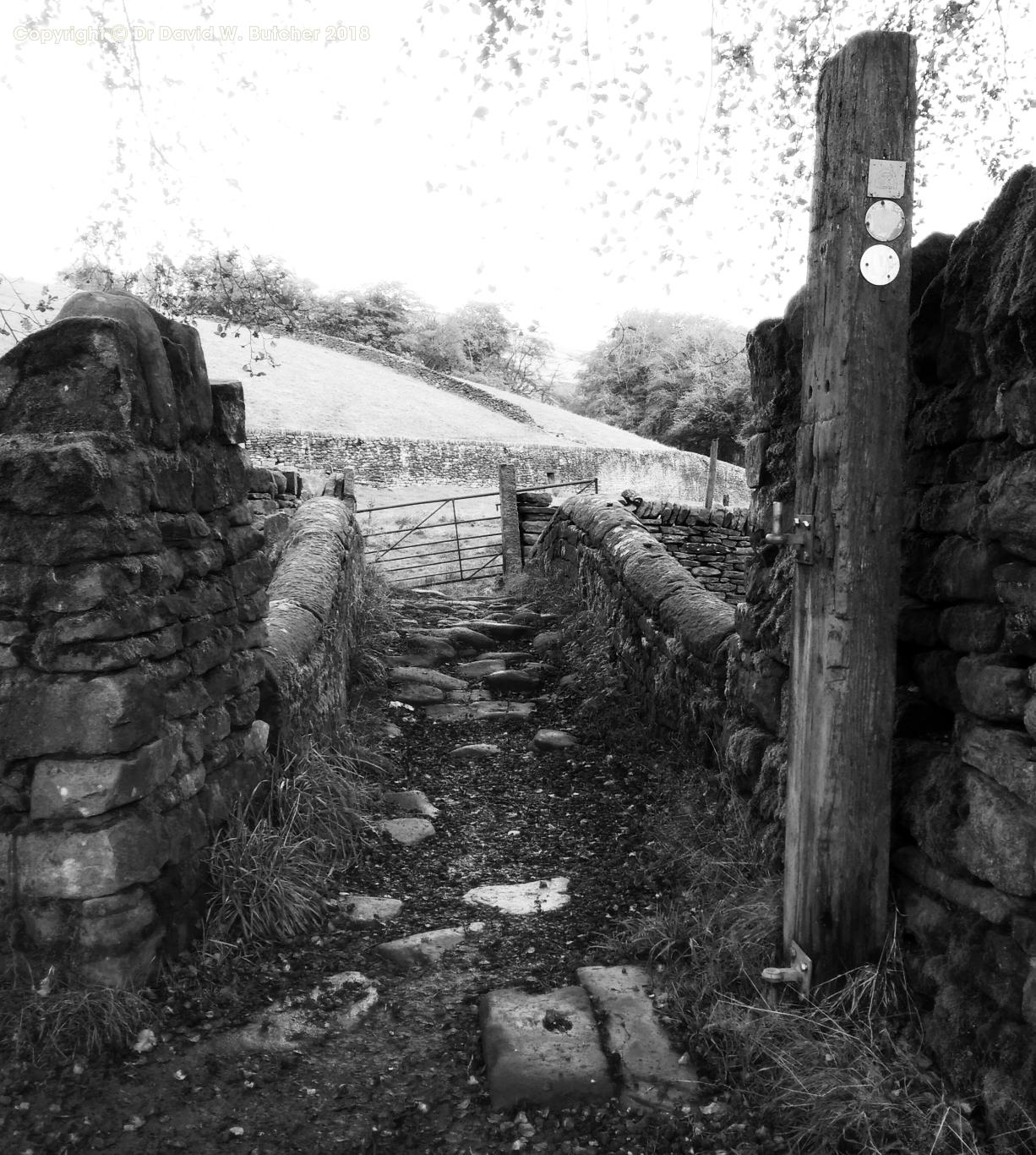 Close Gate Pack Horse Bridge near Marsden