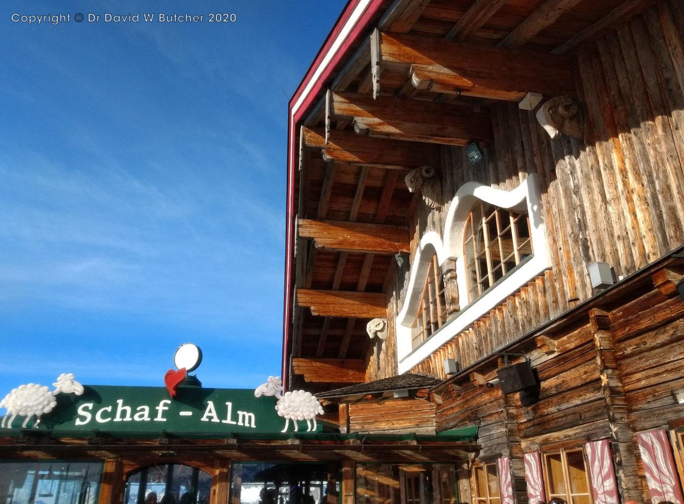 Schladming Planai Schaf-Alm at Top Station