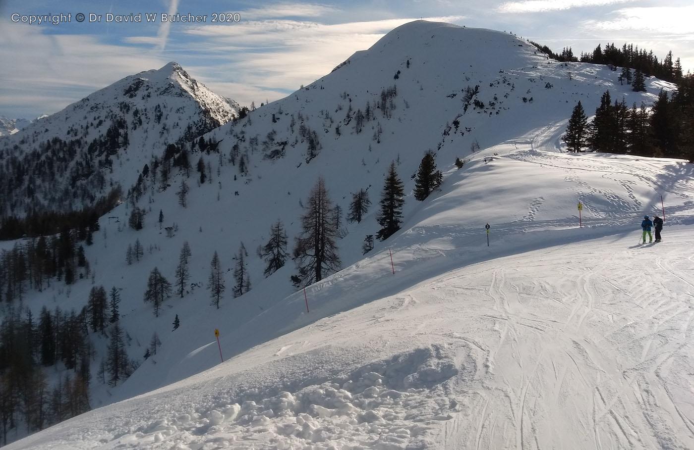 Schladming Reiteralm Bergstation Black Rose Ski Run