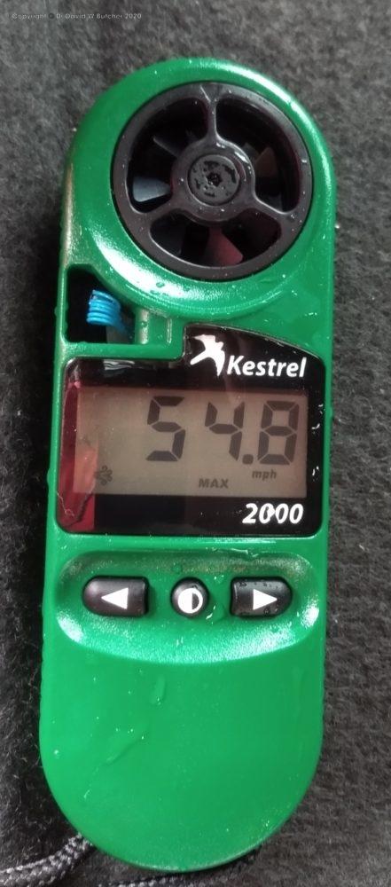 Kestrel 2000 Anemometer