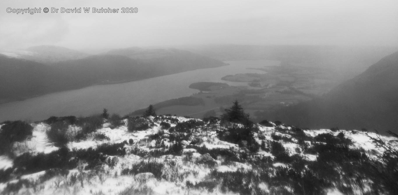 Dodd Summit View Over Bassenthwaite Lake