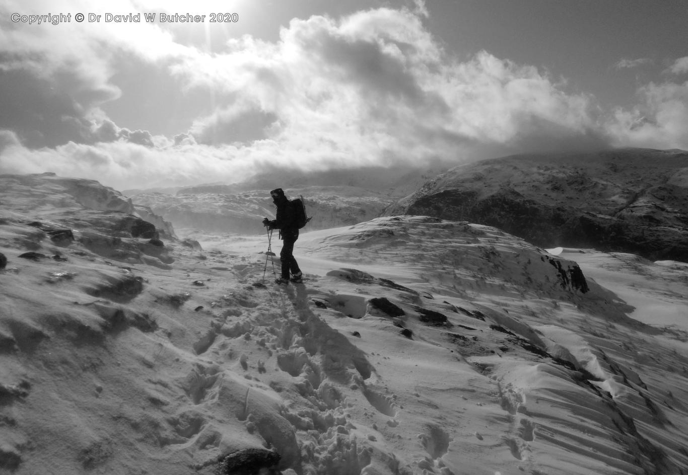 Helvellyn Snowy Descent