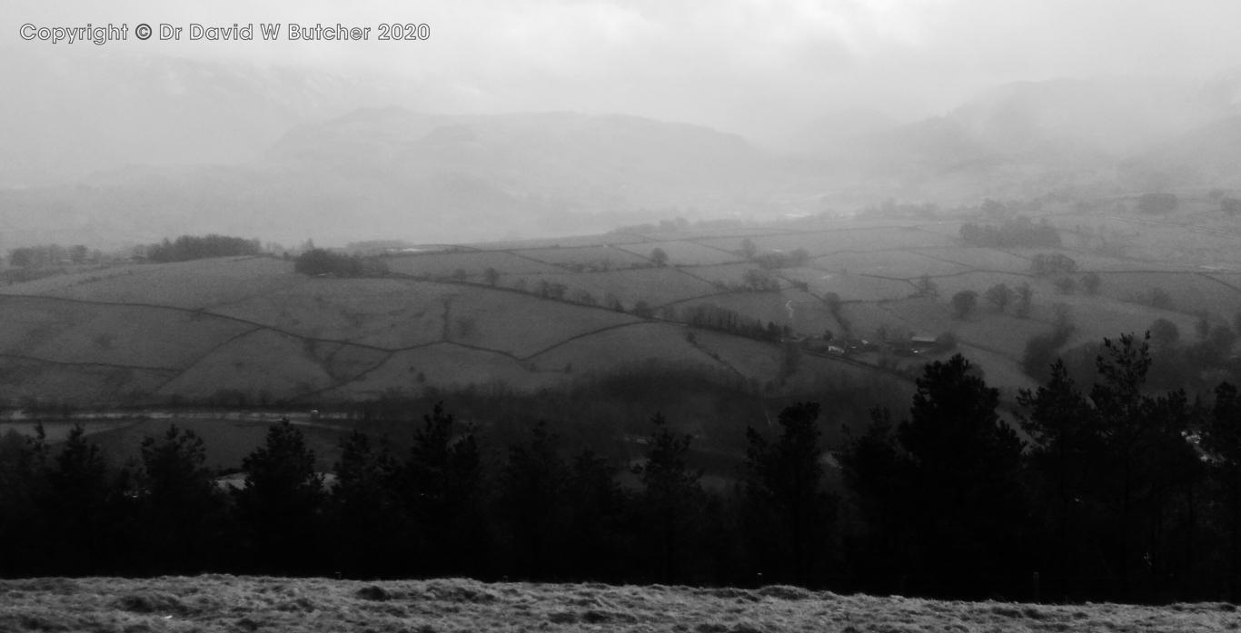 View from Latrigg near Keswick