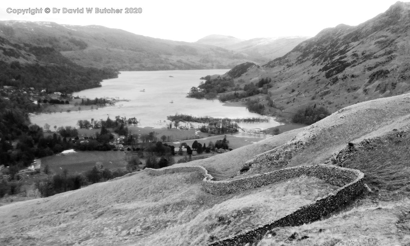 Ullswater from Arnison Crag descent