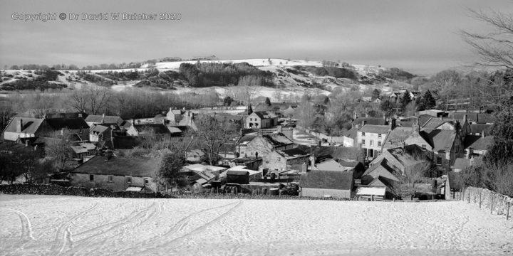 Hartington Village in Winter, Peak District