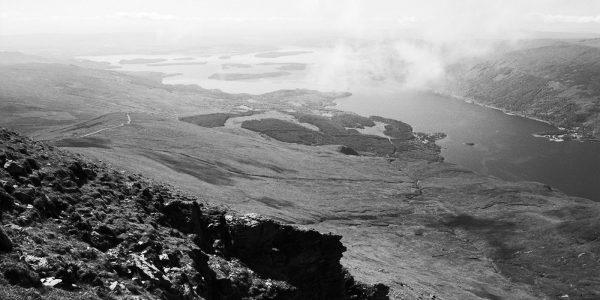 Loch Lomond from Ben Lomond, Trossachs, Scotland