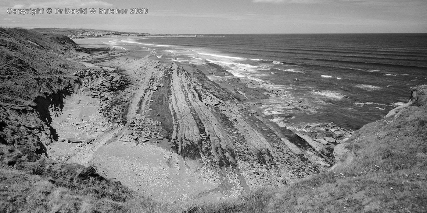 Berwick from Redshin Cove, Northumberland