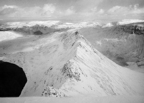 Helvellyn Striding Edge in Winter #2, Lake District