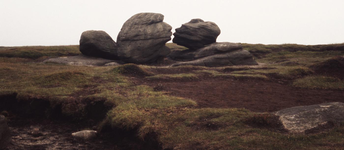 Bleaklow Wainstones - The Kiss, Peak District