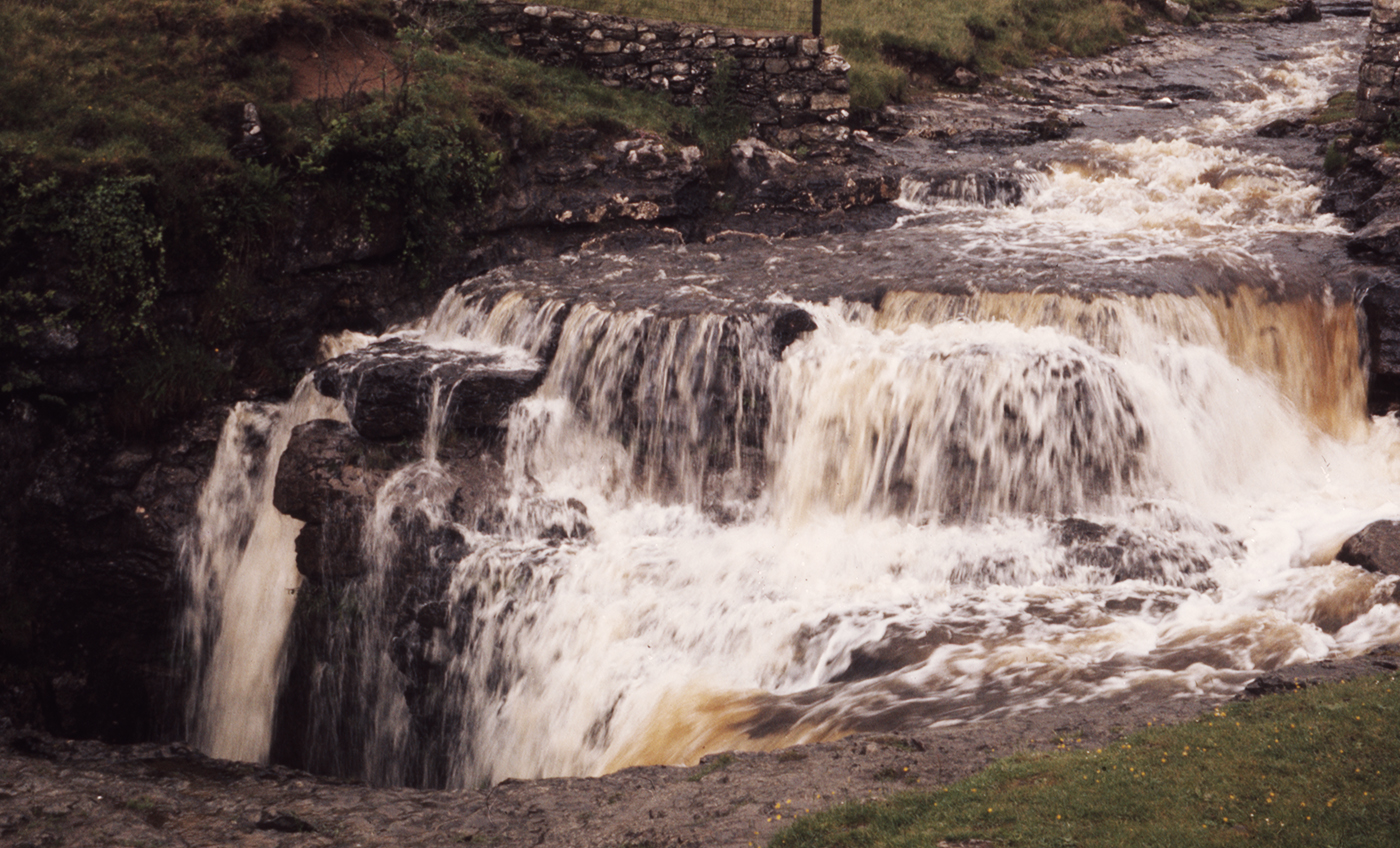 Sell Gill Hole Upper Entrance Waterfall, Horton-in-Ribblesdale
