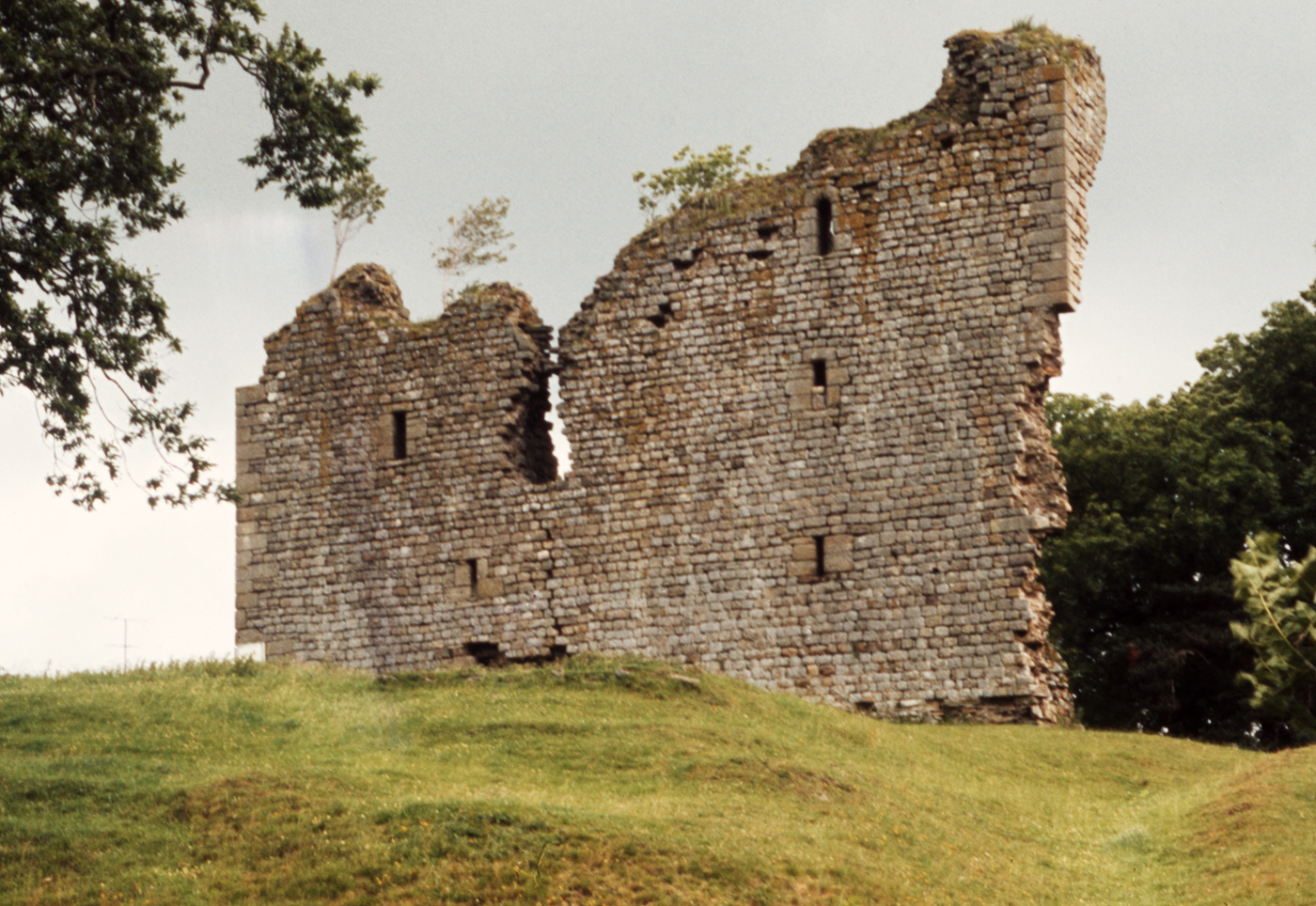 Thirlwall Castle near Greenhead and Hadrian's Wall