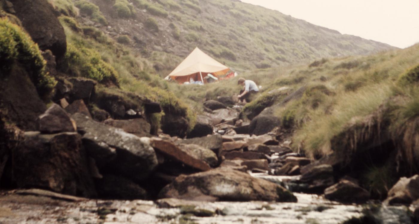 Pennine Way Bleaklow Campsite