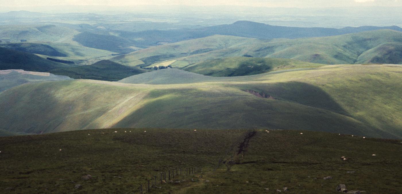 Auchope Cairn View