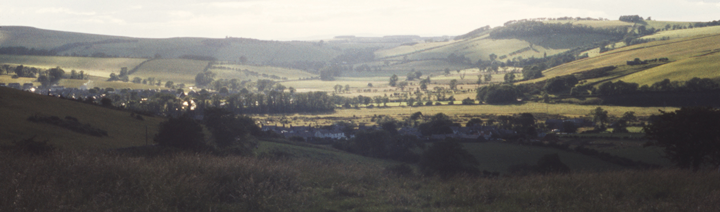 View to Kirk Yetholm