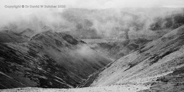Grasmoor View Towards Buttermere, Lake District